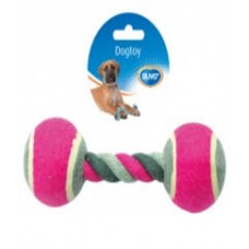 Duvo Knotted Tennis 2 X Dog toy